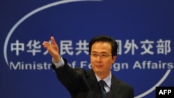 Foreign Ministry spokesman Hong Lei rejected allegations of Chinese government involvement in cyberattacks.