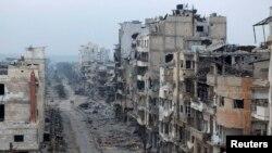 Ҳомс президент Башар Ассадга қарши исённинг таянч шаҳри бўлиб ҳисобланади.