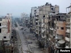 باقیماندههای شهر حمص