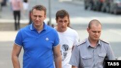 Алексей и Олег Навальные, Москва, 01.08.2014