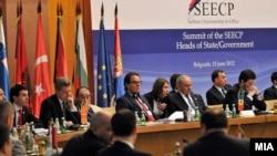Pamje nga takimi i sotëm në Beograd