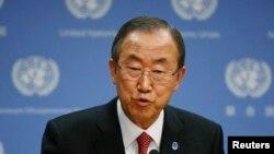 بان کی مون، دبيرکل سازمان ملل