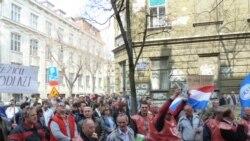 Hrvatska: Prosvjedi i štrajkovi izraz su krajnjeg očaja