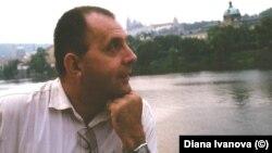 Георги Коритаров в Прага в края на 90-те години.