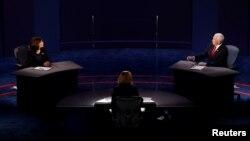 Це були перші та єдині дебати кандидатів у віцепрезиденти на виборах-2020 і вони різко контрастували з першими дебатими кандидатів у президенти Дональда Трампа і Джо Байдена