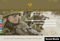 """""""Чехословацкие солдаты запаса"""" против войны, планируемой командованием НАТО"""". С сайта ceskoslovenstivojaci.org"""