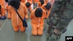 В США до сих пор спорят - пытать или не пытать тех, кто может дать показания о преступлениях террористов. На фото: тюрьма в Гуантанамо