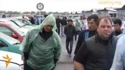 «Барыс» көлiк базары. Алматы, 29 қыркүйек 2012 жыл.