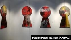 من اعمال الفنان العراقي رياض نعمه