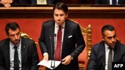 Прэм'ер-міністар Італіі Джузэпэ Контэ