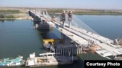 O simulare a podului Vidin-Calafat.