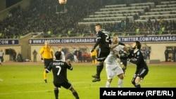 «Qarabağ»-«İnter» oyunu. Foto arxiv