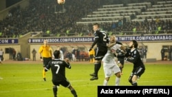 Qarabağ-Inter. Foto arxiv