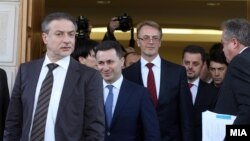 Делегација на ЕУ посредуваше во надминување на политичката криза. 1 март 2013.
