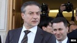 Премиерот Никола Груевски и лидерот на опозициската СДСМ Бранко Црвенковски