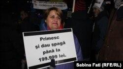La protestele de la București