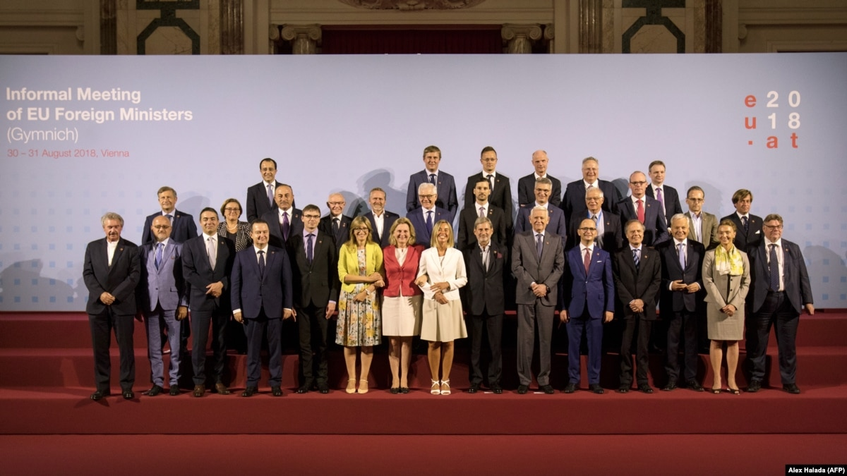 Министры ЕС 19 ноября обсудят новые санкции за «выборы» на Донбассе