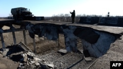 Forţe pro-ruse la Debalţeve, 22 februarie 2015