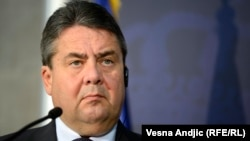 German Economy Minister Sigmar Gabriel (file photo)