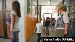Iz jedne od škola u Srbiji, ilustracija