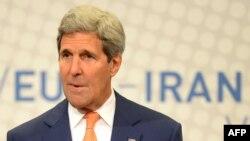 ԱՄՆ պետքարտուղար Ջոն Քերրին Վիեննայում ասուլիս է տալիս Իրանի միջուկային ծրագրի շուրջ բանակցությունների հերթական փուլից հետո, արխիվ
