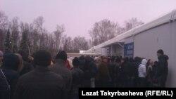 Миграция борборунда кезек күткөндөр. Орусия. 2015