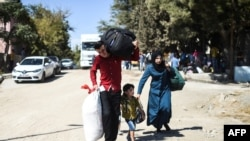 Сирийские беженцы в Турции. Иллюстративное фото.