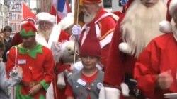 Santa Klauslar Kopenhagenə niyə axışıb?