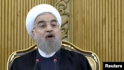 Rouhani ABŞ-ı İran xalqından üzr istəməyə çağırıb