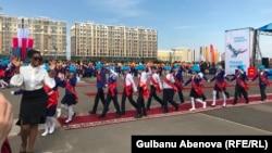 Последний звонок в частной школе. Астана, май 2018 года.