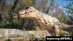 Интерактивный парк динозавров в Крыму