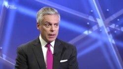 Посол США в Росії: Москва має припинити ігри навколо затриманого американця – відео
