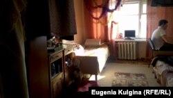 """Комната в """"Пункте временного размещения"""" пострадавших от наводнения в Хабаровске"""