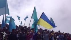 Кримські татари піднялися на Чатир-Даг