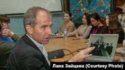 Томаш Гланц в Новосибирске. Студия 312