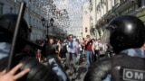 Акция протеста с требованием допустить независимых кандидатов на выборы в Мосгордуму