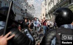 Акция протеста 27 июля 2019 года в Москве