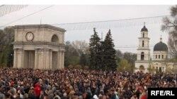 Кишиневдеги демонстрация, 12-апрель