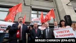 Пачхьалкхан Думан КПРФ фракцин депутаташ.