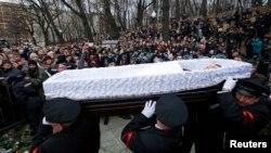 Панахида за Борисом Нємцовим у Москві. 3 березня 2015 року