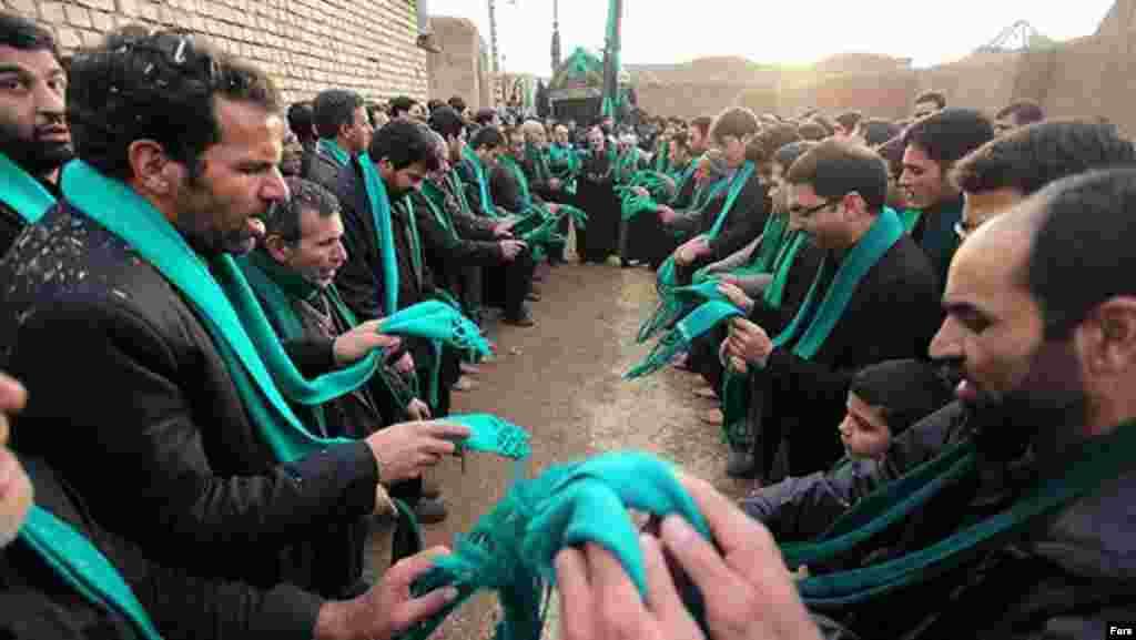 مراسم زار خاک در روستای قورتان اصفهان