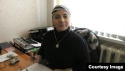 """Сотрудница гуманитарной организации """"Датский совет по беженцам"""" Зарема Гайсанова"""