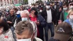 Митинги в поддержку потенциальных оппозиционных кандидатов в президенты Беларуси