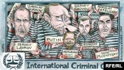 Політична карикатура (Автор: Олексій Кустовський)