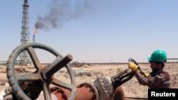 Iraq neftçisi, arxiv fotosu