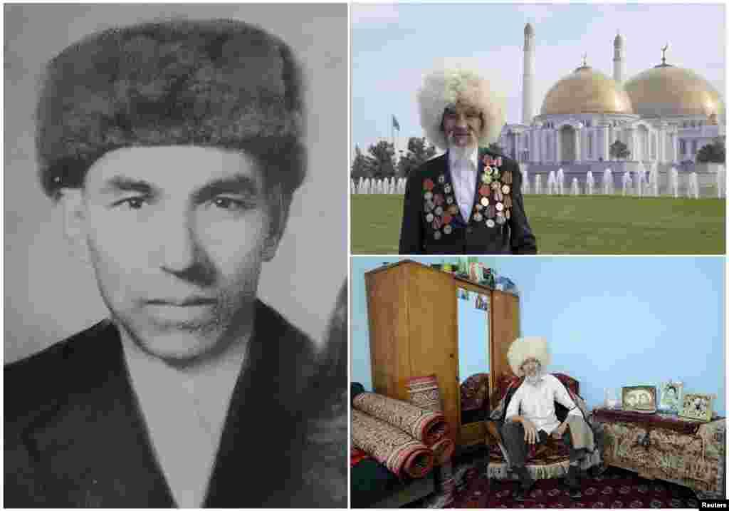 Гуванч Мыратлиев, 89 лет. Уроженец Туркменистана служил моряком Балтийского флота с февраля 1944 по 1950 год. На момент окончания войны был в Кенигсберге (Калининград).