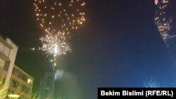 Fishekzjarrët në Prishtinë...