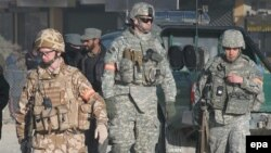 نیروهای ناتو در کابل(عکس تزئینی)