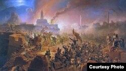 Януарий Суходольский. Осада Ахалцихе. 1838