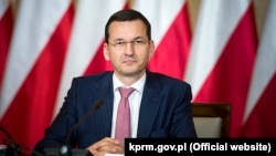 Польша премьер-министрі Матеуш Моравецкий.